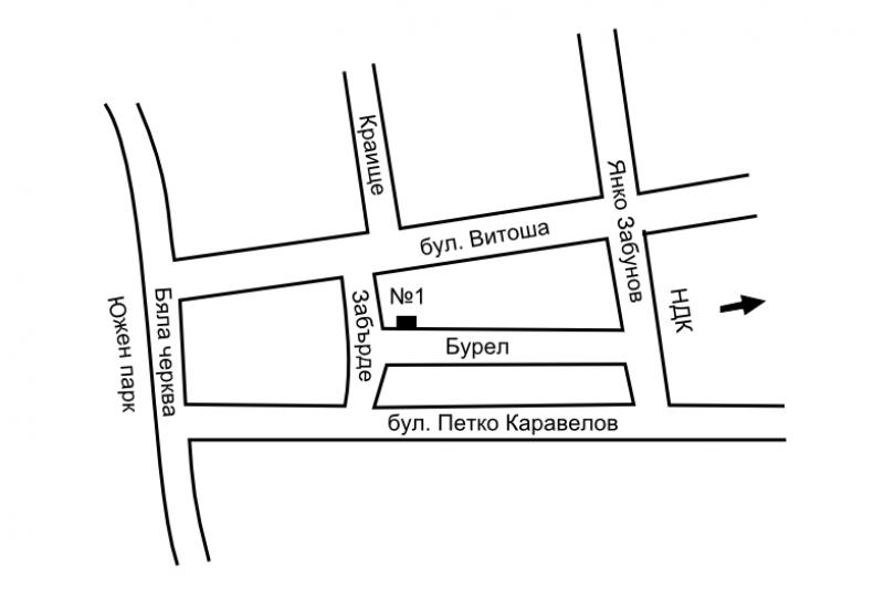 Местоположение на салон Refined
